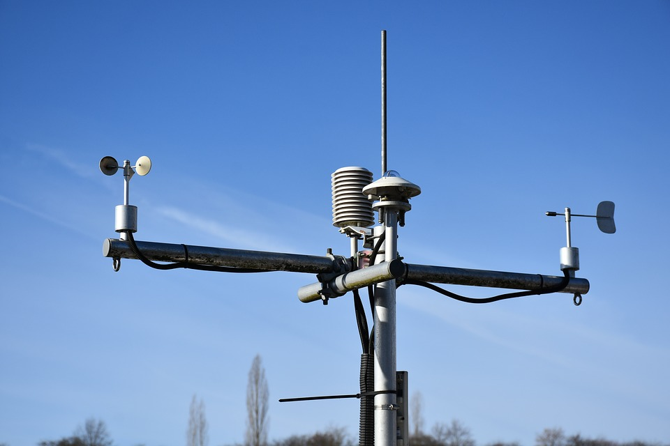 Geconnecteerd weerstation